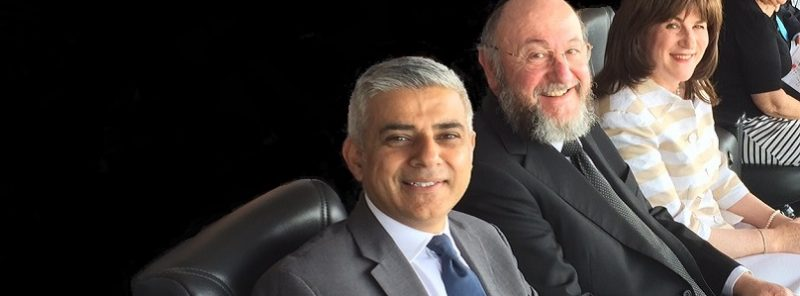 Sadiq Khan and Chief Rabbi front page