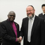 The Chief Rabbi meets the Archbishop of York  John Sentamu