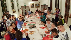 22nd October 2016: St John's Wood Youth planned their own Sukkot party