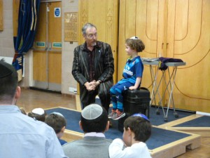 8th March 2015: Purim tea party and magic show at Northwood United