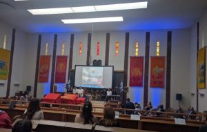 11th May 2016: Yeshurun HC welcomed the South Manchester community to their Yom HaZikaron ceremony and Yom Ha'atzmaut celebrations