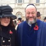 Chief Rabbi at the AJEX parade