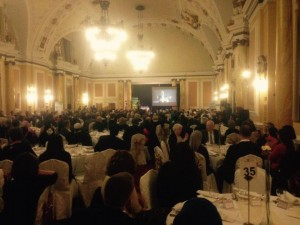 The Chie Rabbi was a keynote speaker at a dinner held by the Muslim Council of Wales