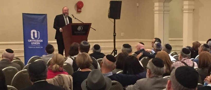 Chief Rabbi Mirvis calls for global Jewish unity, addressing the widespread communities' common goals and issues