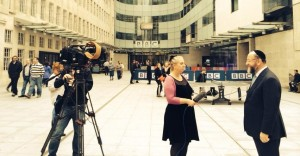 Speaking on BBC News ahead of Shabbat UK