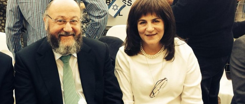 Chief Rabbi Mirvis visited South Africa