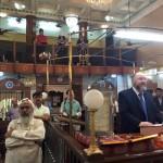 Leading Minchah for Thane Jewish community