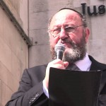 Chief Rabbi speaks at Campaign against Antisemitism rally
