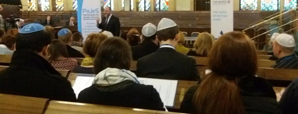 The chief Rabbi talks