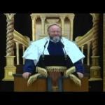 Video: The Chief Rabbi's Installation Address