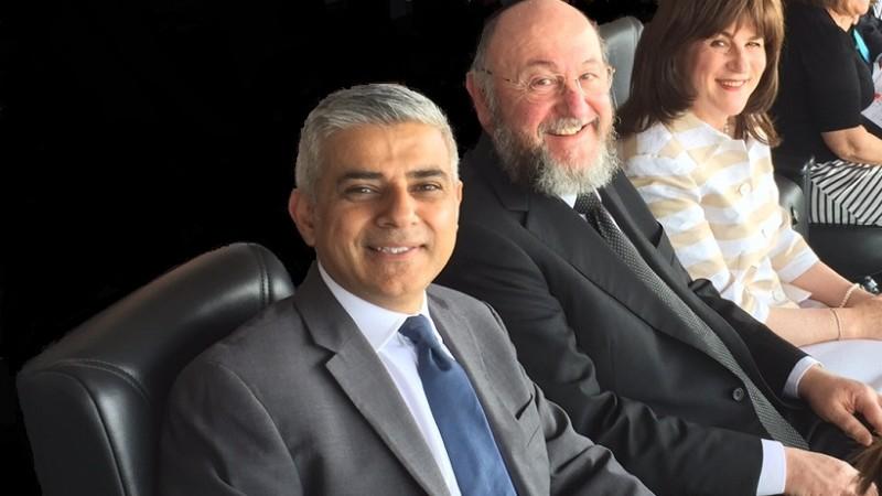 Chief Rabbi and Sadiq 3