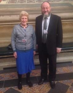 The Chief Rabbi meets Baroness Butler-Sloss