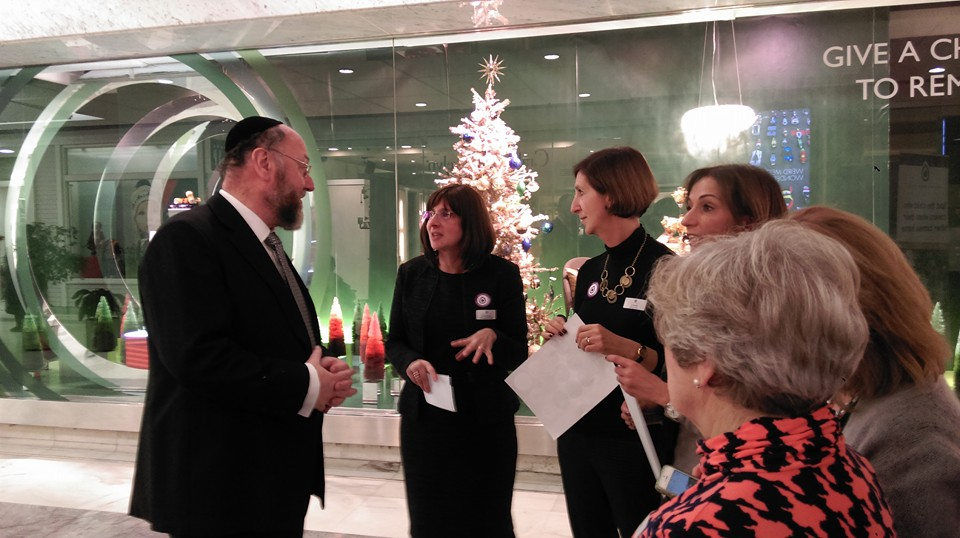 Chief Rabbi professes his support for victims of domestic abuse