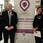 The Chief Rabbi with Jewish Women's Aid Volunteers