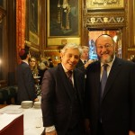 Chief Rabbi Mirvis with the Speaker of the House of Commons at his annual Chanukah ceremony for parliamentarians