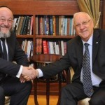 President Rivlin and the Chief Rabbi