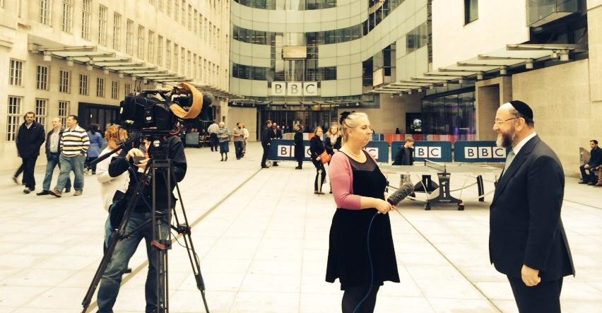 Speaking on BBC News ahead of Shabbat UK