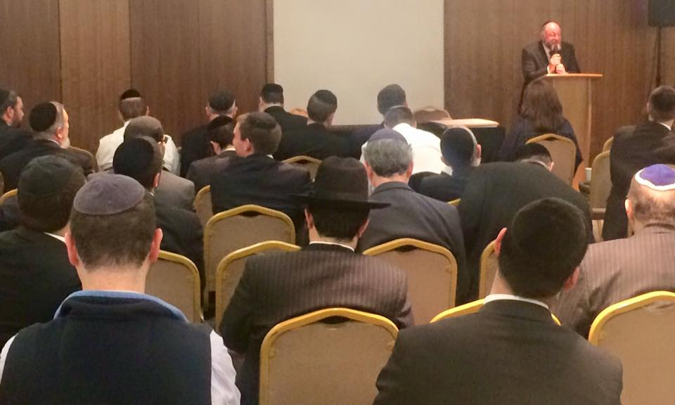 The Chief Rabbi addresses Rabbinic couples from across the country as the safeguarding seminar gets underway
