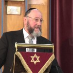 Chief Rabbi Addresses Prayer Service for Missing Teenagers
